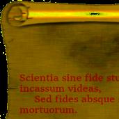 Scientiam et opinionem